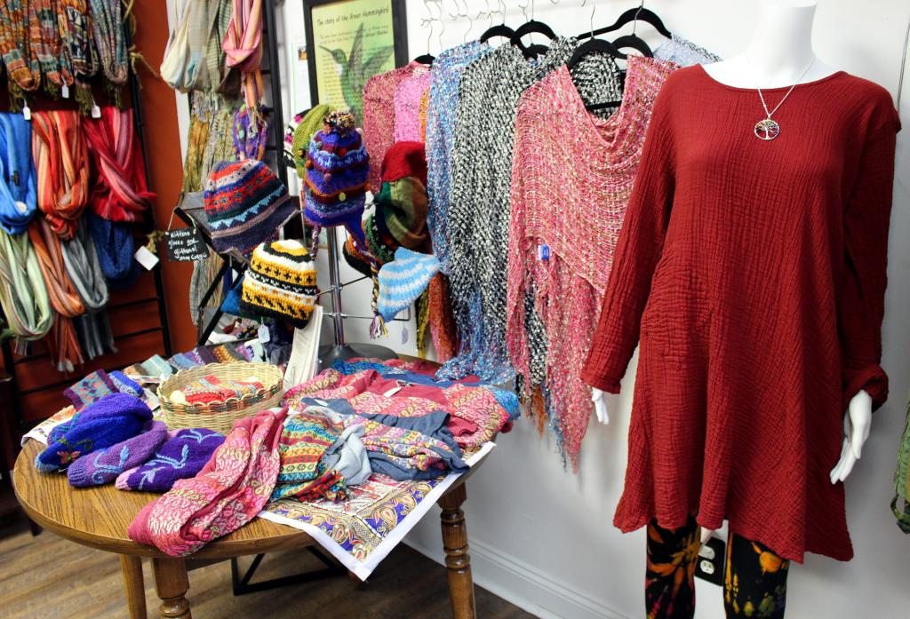 many clothing items