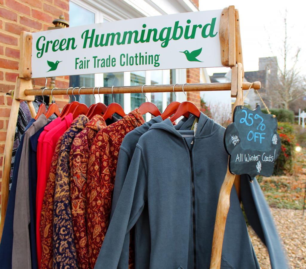 clothing outside