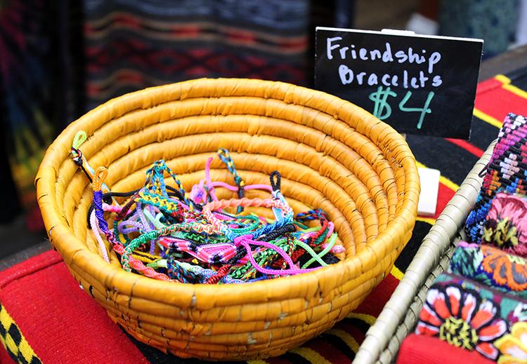 bowl of bracelets